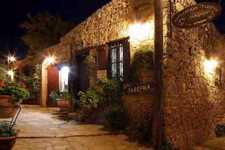 Taverna in Cyprus