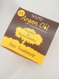 Eclipz Argan Oil hair treatment review