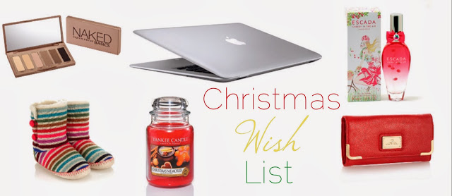 My Christmas wishlist 2013