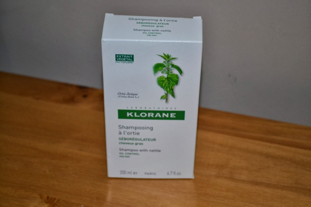 Review – Klorane shampoo with nettle