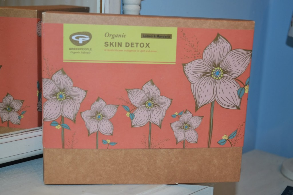 Review – Green People Organic Skin Detox set