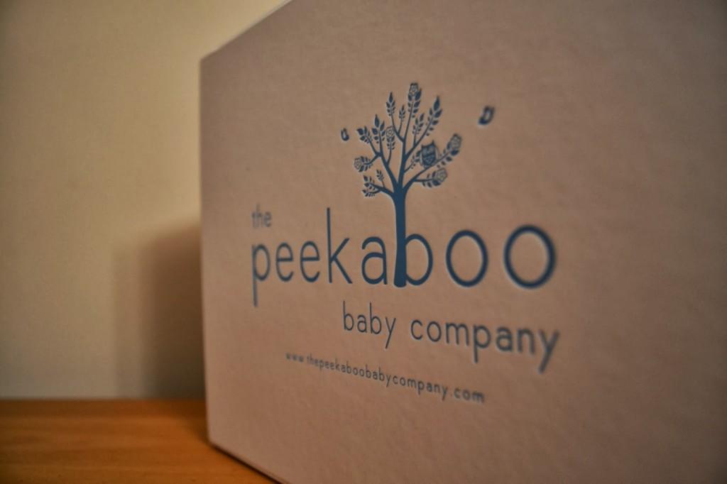 Peekaboo Baby gift box