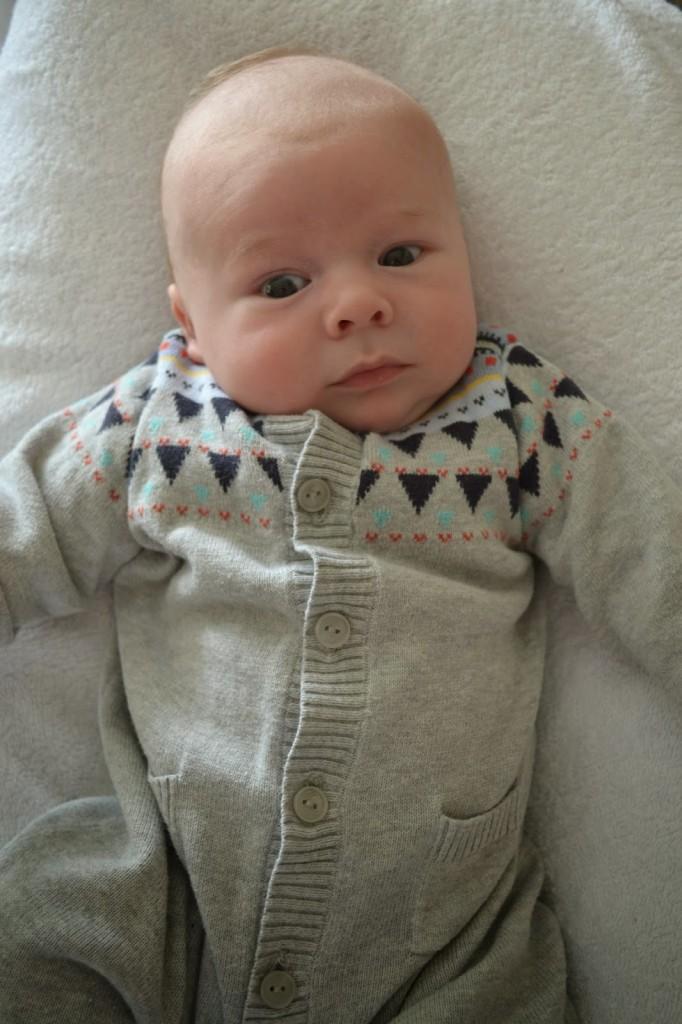 8 weeks old – baby update
