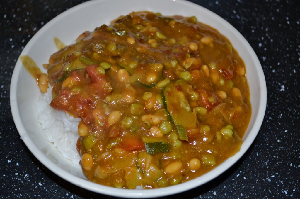Slimming World Mushy Pea Curry - Rock and Roll Pussycat