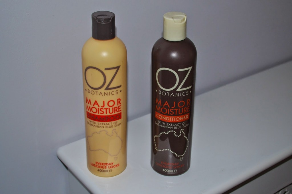 My bargain hair find – Oz Botanics shampoo and conditioner