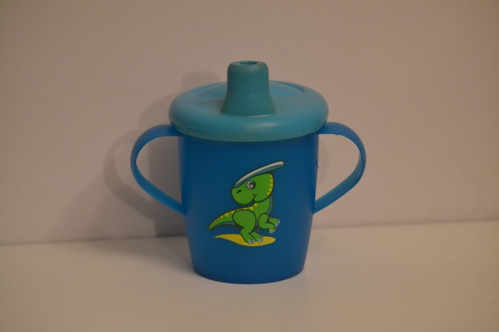 Haberman Dinosaur sippy cup review