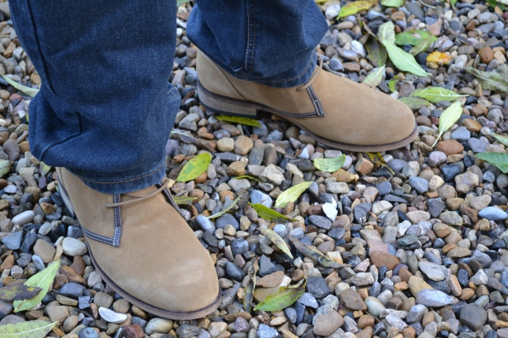 Jacamo slouchy desert boots for men