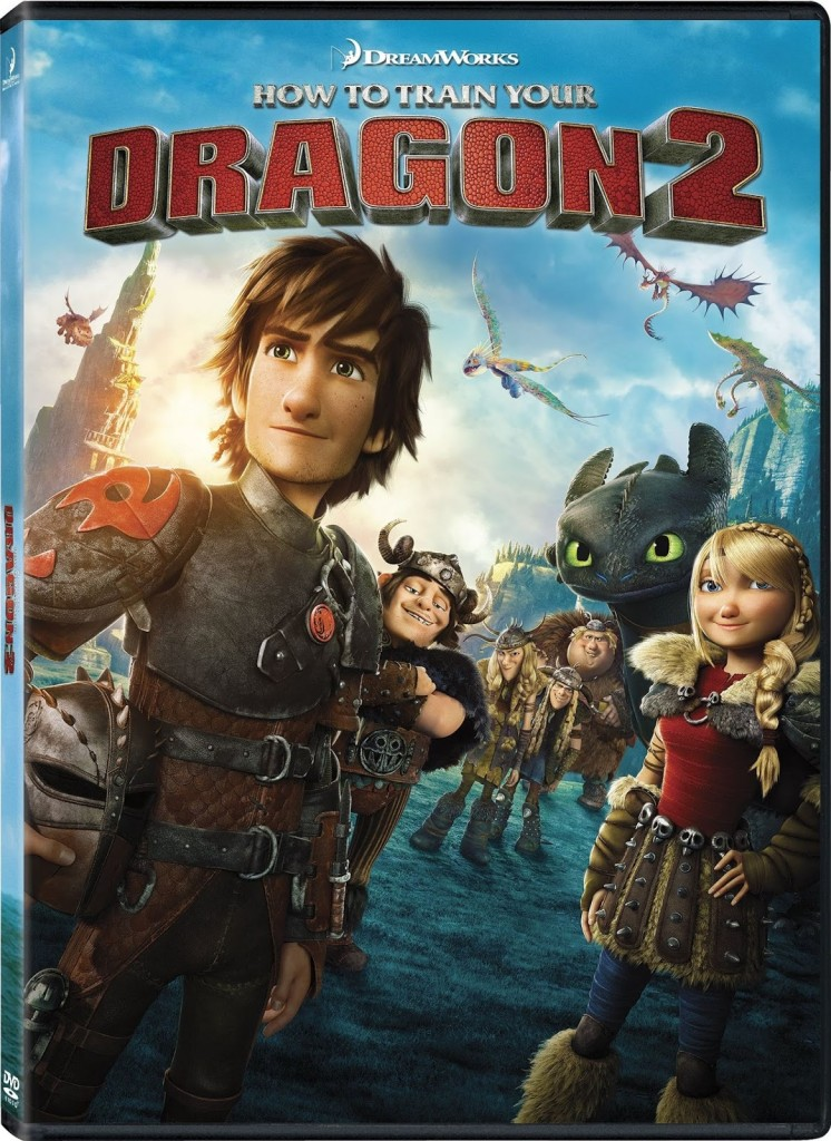 How To Train Your Dragon 2 dvd giveaway