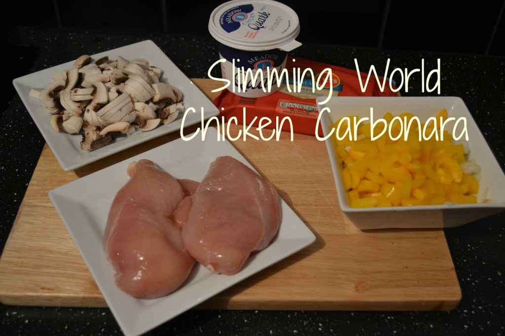 Slimming World Chicken Carbonara