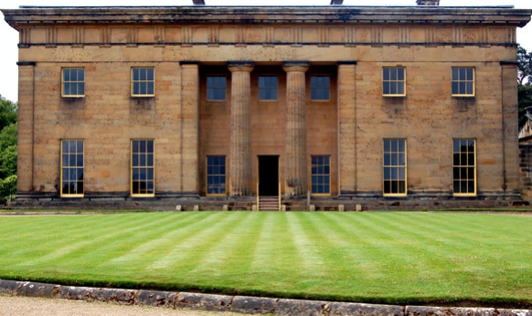 Belsay Hall, castle and gardens, Northumberland
