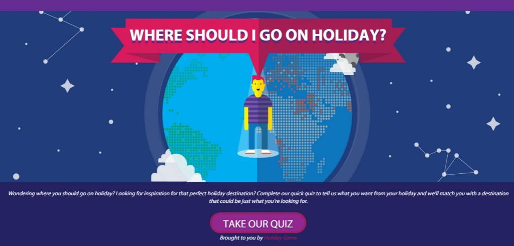 Need help with your next holiday destination?