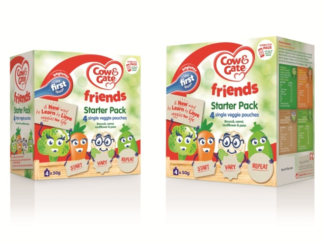 Cow and Gate new Friends food range