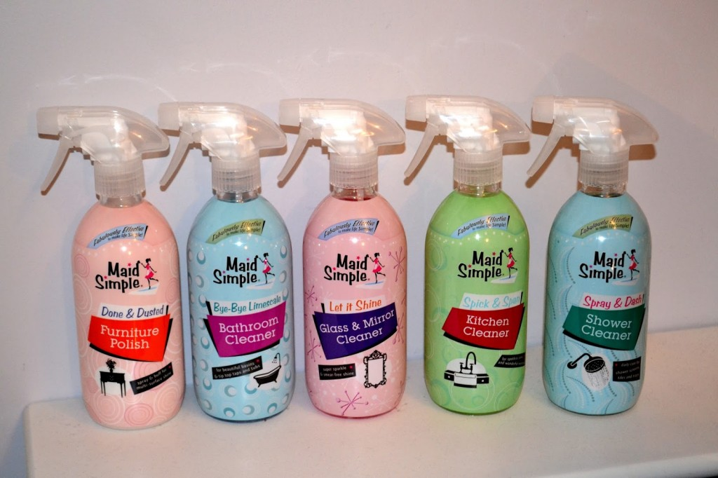 Maid Simple cleaning products
