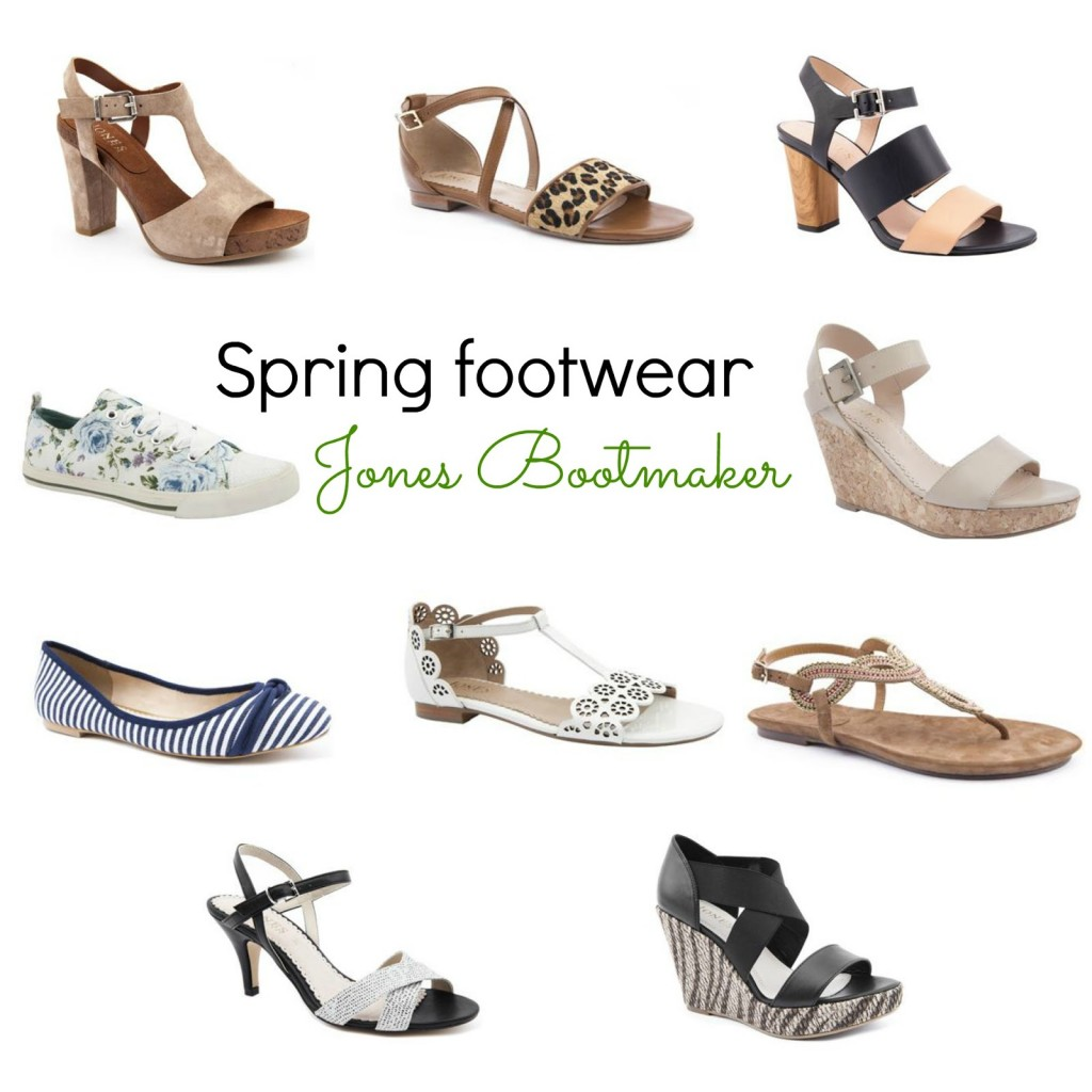 Spring and Summer footwear