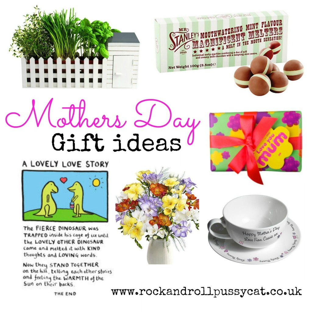 Mothers Day gift guide from www.rockandrollpussycat.co.uk
