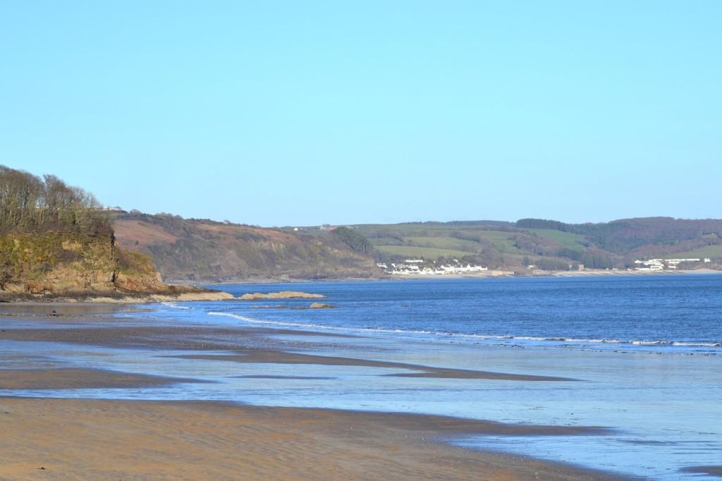 Saundersfoot beach