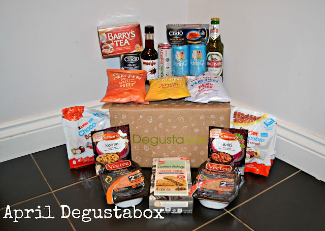 April Degustabox