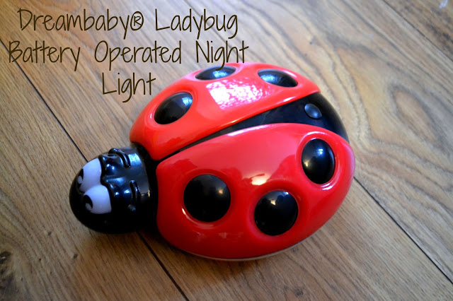 Dreambaby® Ladybug Battery Operated Night Light