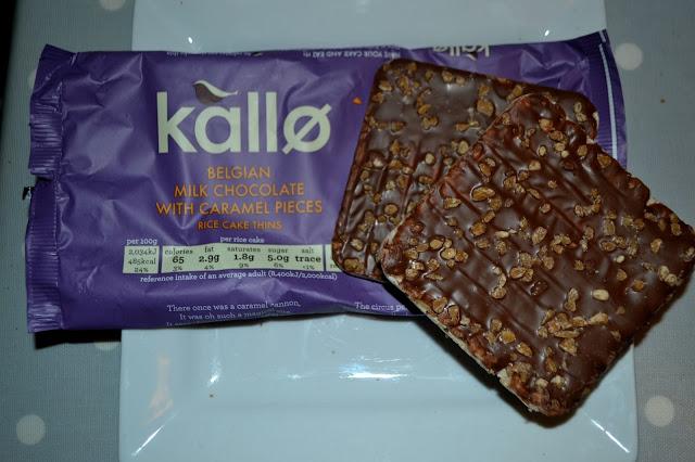 Kallo Belgian Chocolate rice cakes