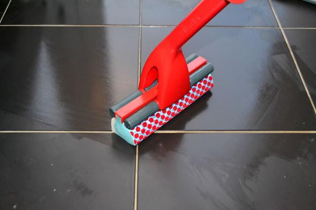 Vileda magic mop cleaning kitchen floor