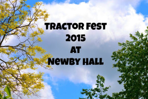 Tractor Fest, Newby Hall 2015