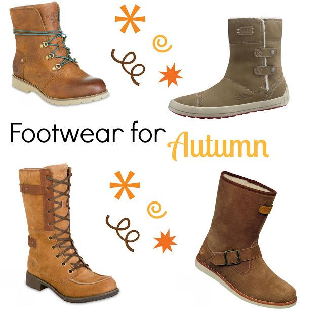 Autumn footwear