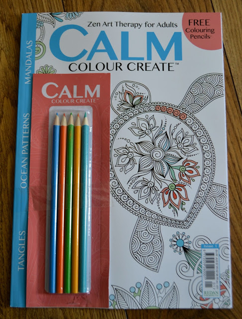 Calm, Colour, Create Magazine – Review & Giveaway