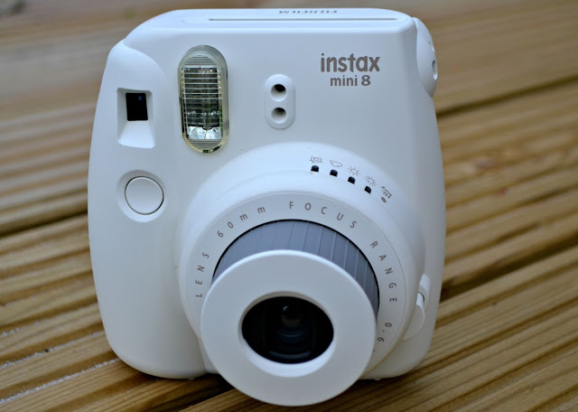 Fujifilm's Instax Mini 8 Instant Camera front view