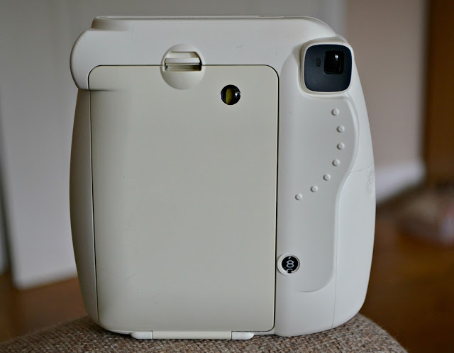 Fujifilm's Instax Mini 8 Instant Camera back view