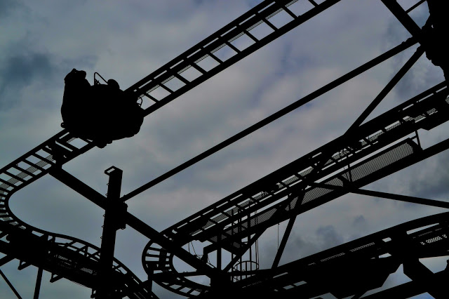 ride silhouette at Lightwater Valley