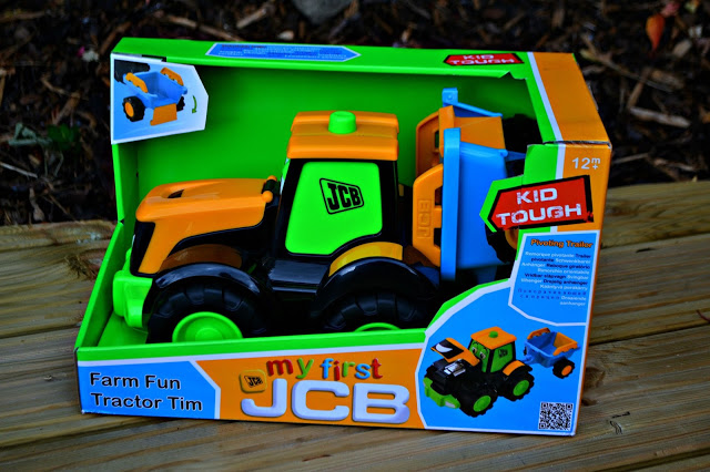 My 1st JCB Tractor Tim review & giveaway