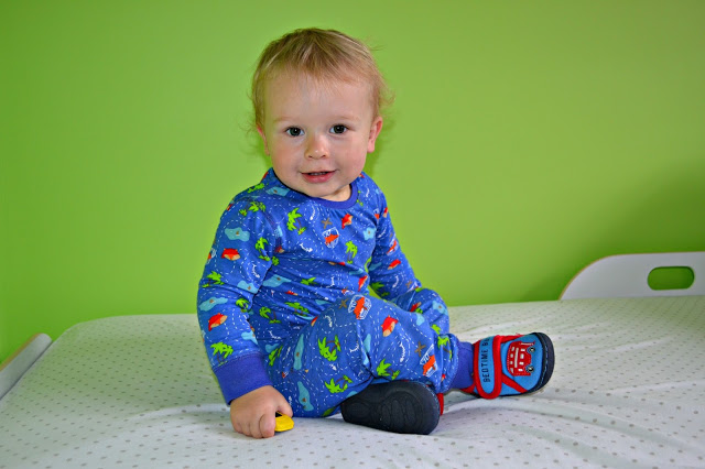 Enchanted Forest and Friends pyjamas worn by 19 month old