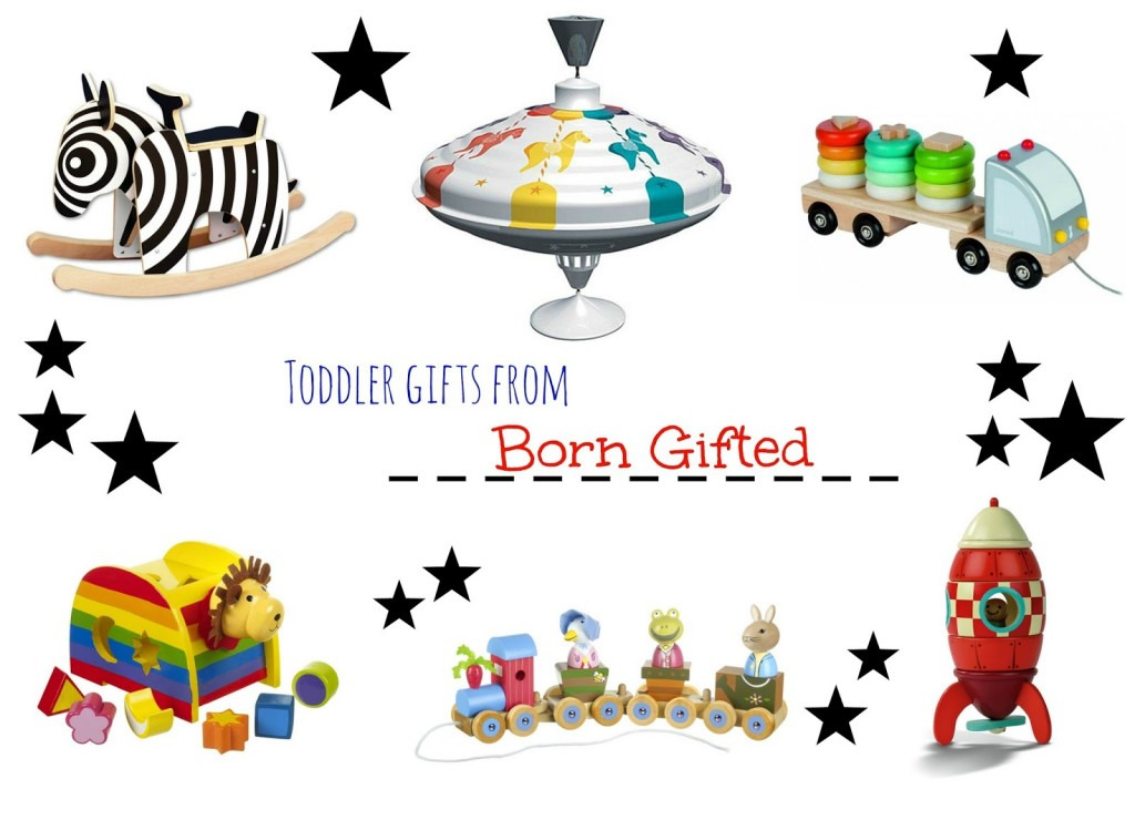Born Gifted toddler gift guide & giveaway