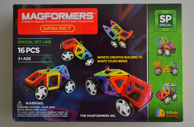 Magformers Wow set review and giveaway