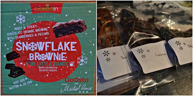 BakedIn Snowflake brownie kit review