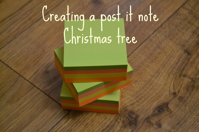 Quick and easy Christmas crafts using stationery