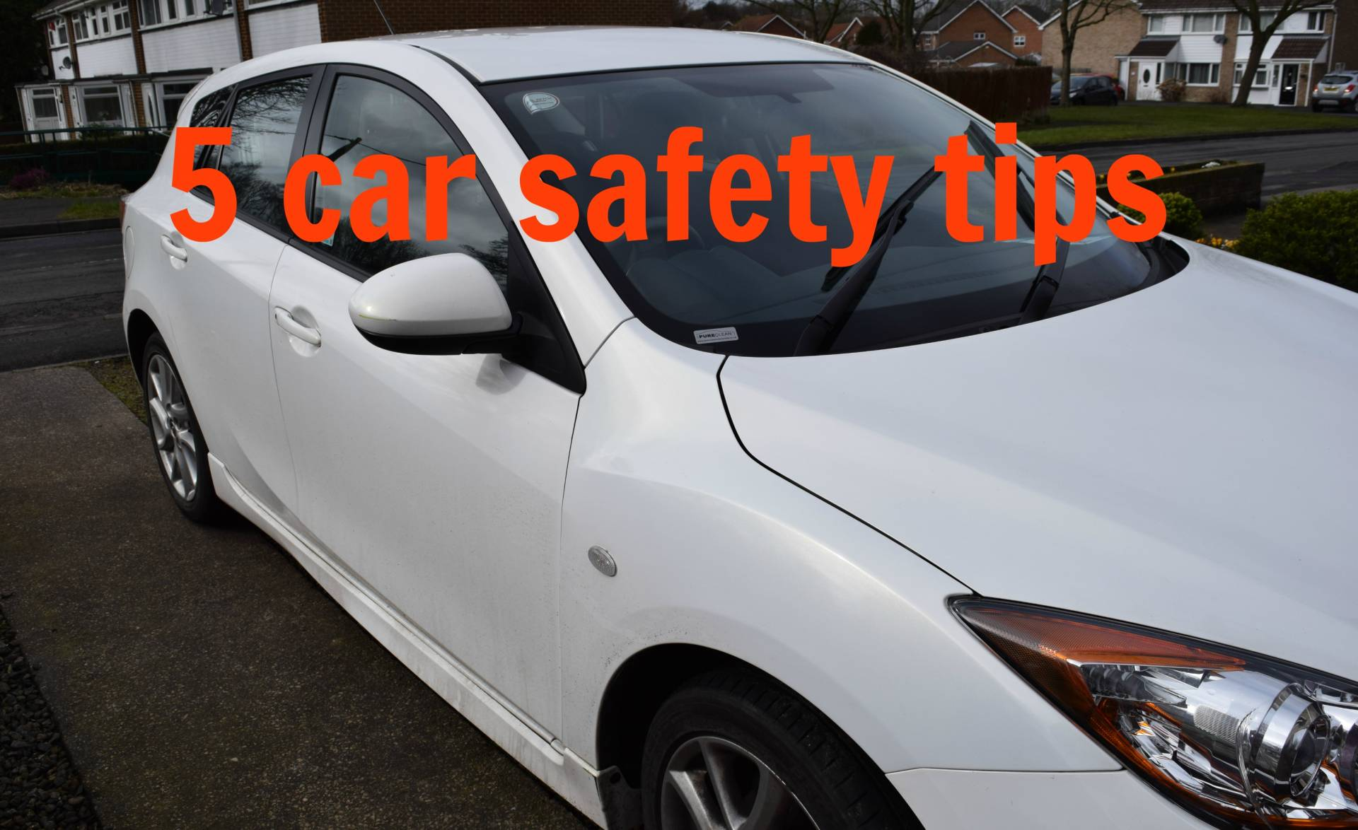 5 car safety tips