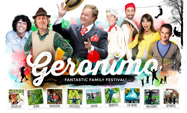 Win tickets to Geronimo Festival – The Biggest Children's Festival in the UK