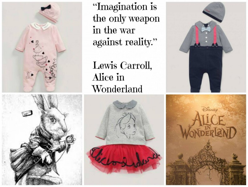 Alice in Wonderland collage