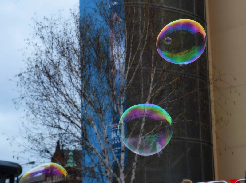Maker-Faire-Life-Science-Centre-Newcastle-bubbles