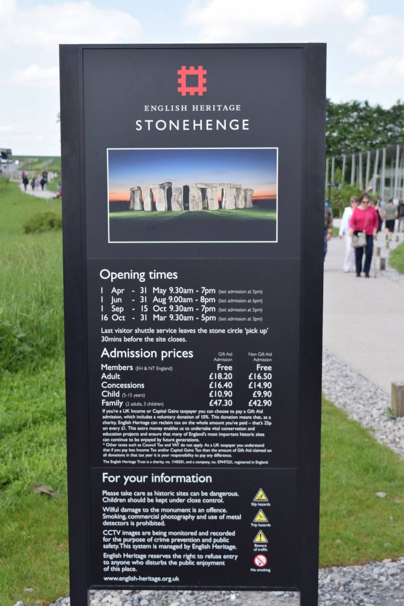 Visiting Stonehenge with a child