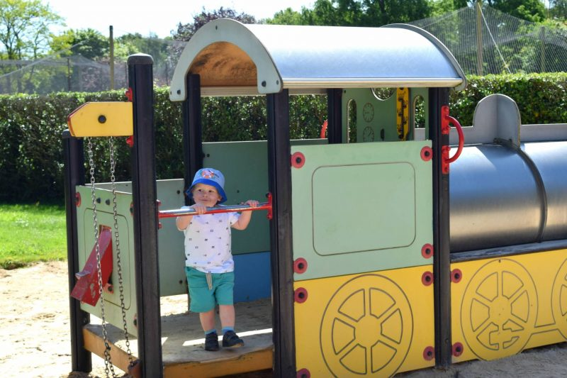 Visiting Paultons Park with a toddler