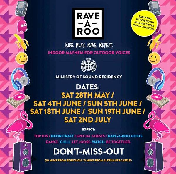 Rave-a-roo-dates