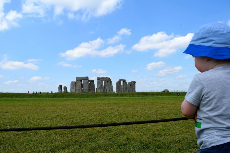 Stonehenge-toddler