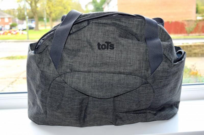toTs-smarTrike-Voyage-Melange-change-bag-front