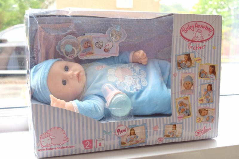 Baby Annabell brother doll review