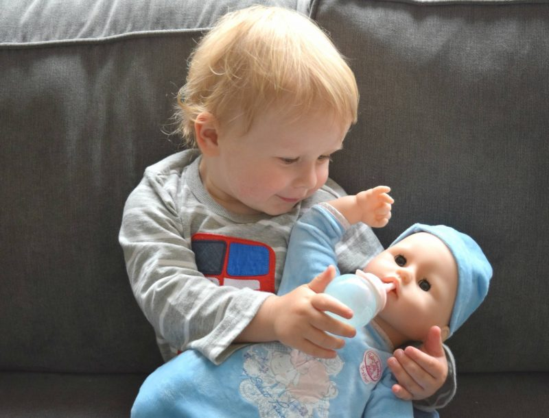 Baby-Annabell-brother-Eli