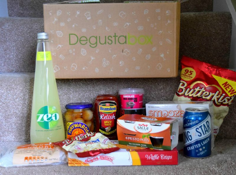 Degustabox June 2016 review