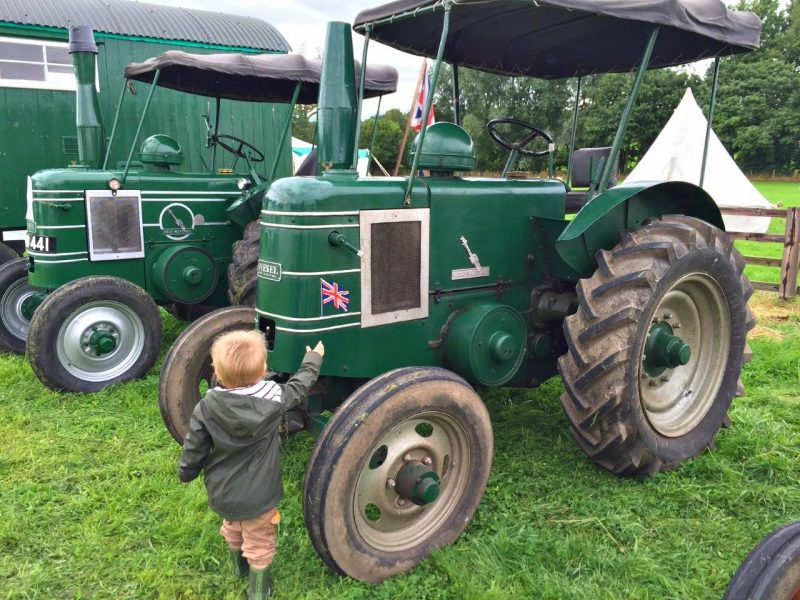 Beamish-green-tractor