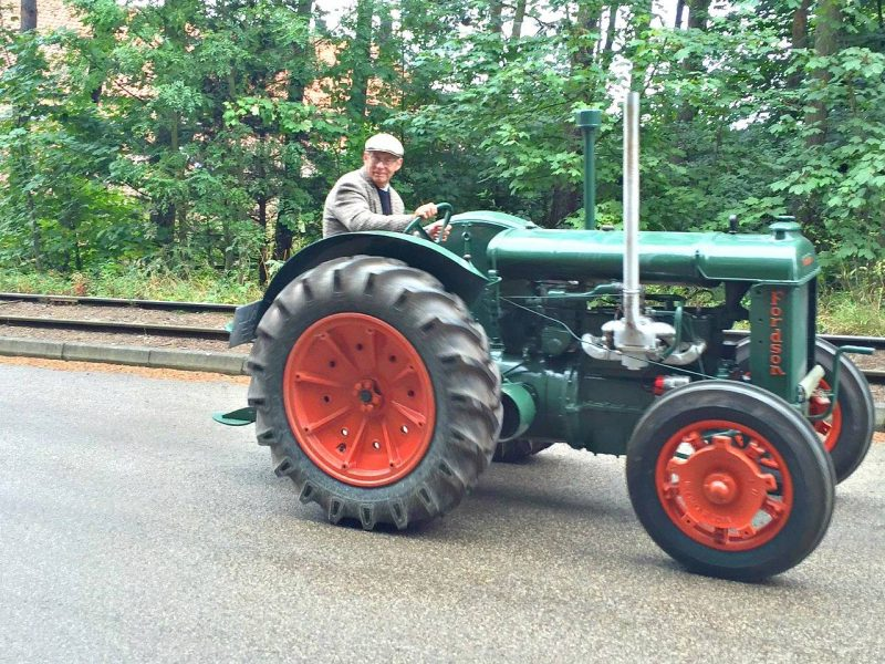 Beamish-tractor